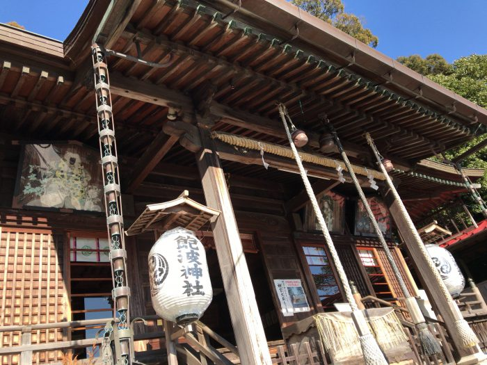 藤枝飽波神社拝殿