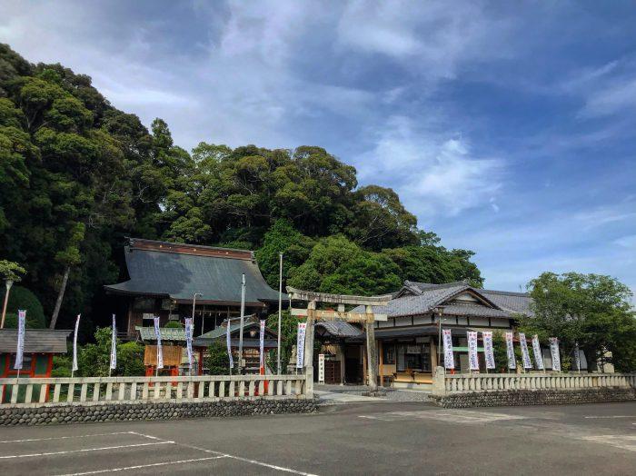 静岡藤枝縁結びなら飽波神社パワースポット