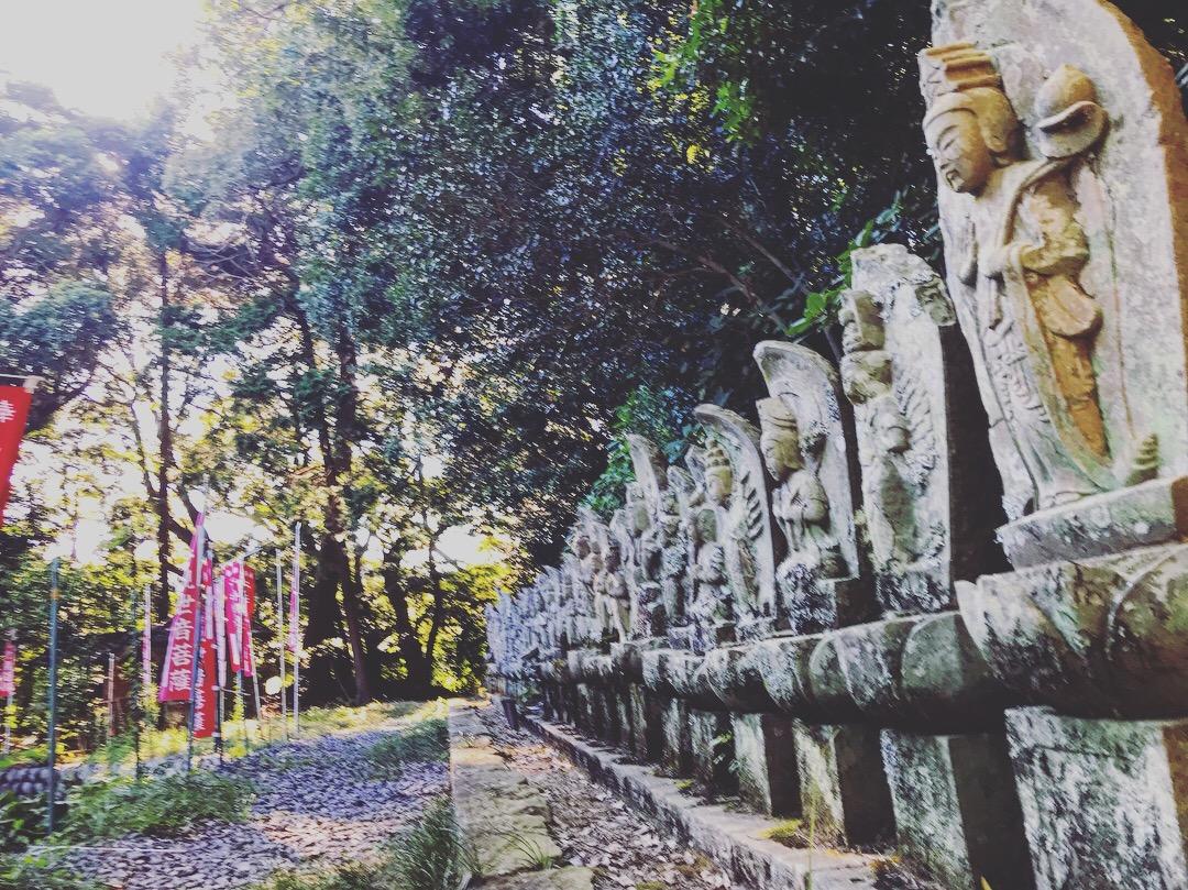 藤枝清水寺の西国三十三観音霊場石仏