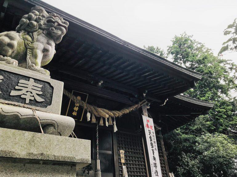 敬満神社拝殿