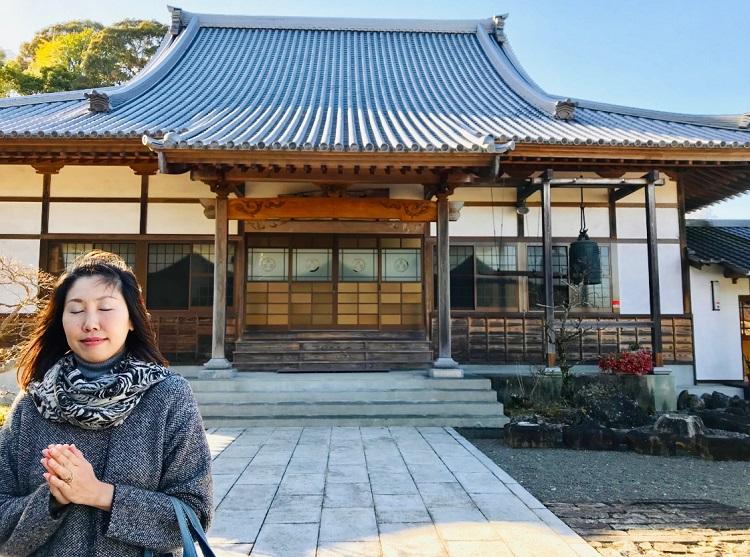 藤枝七福神巡りラスト長楽寺へ静岡恋活デート