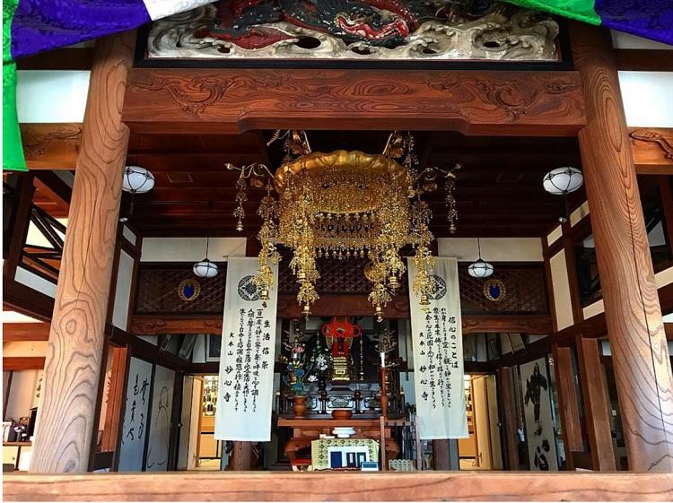 長楽寺仏天蓋