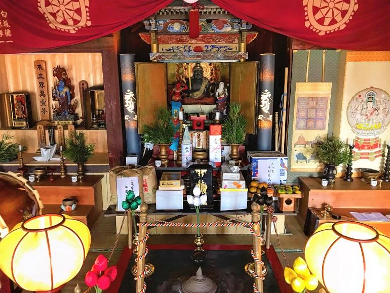 焼津不動明王と准胝観音の不動院へ静岡恋活デートめぐ婚