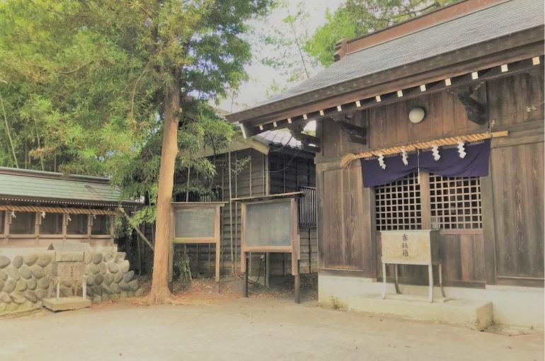 御穂神社の叶い馬